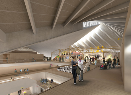 After: What the new Design Museum will look like when it is completed in 2014