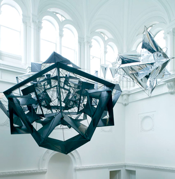 Meteor Kite Mark 1 at the Royal Academy in 2009