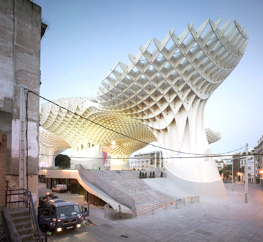 J. Mayer H. Architects, <em>Metropol Parasol</em> (2011),  Seville, Spain