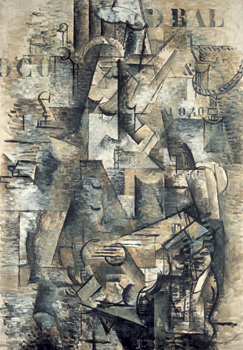 Georges Braque, <em>The Portuguese</em> (1911)