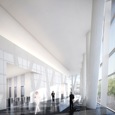 Richard Meier & Partners, Mitikah tower, Mexico City