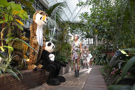 LuckyPDF, The Conservatory, Barbican Centre, London (2011) featuring Philip Li, Germination and Eddie Peake, Paws