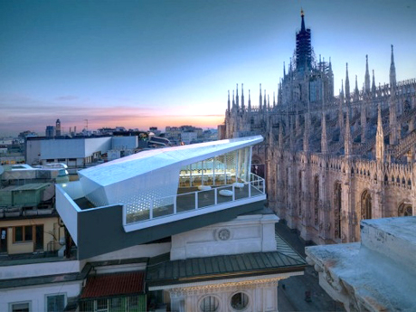 Park Associati, The Cube in partnership with Electrolux, overlooking the Duomo in Milan