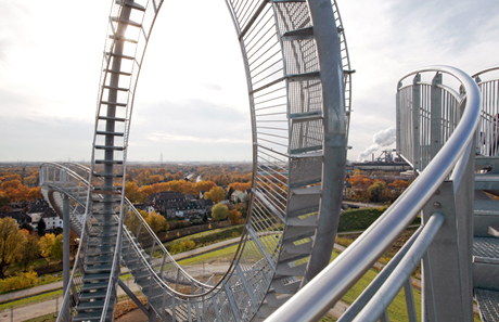 Heike Mutter and Ulrich Genth's <em>Tiger & Turtle - Magic Mountain</em>