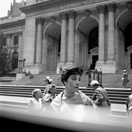 Vivian Maier (undated), New York. Courtesy Vivian Maier Archives