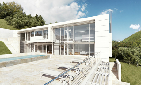 Richard Meier & Partners, Villa Cardone, Lake Garda