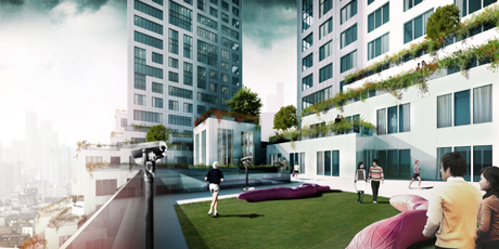 MVRDV's gardens in the sky