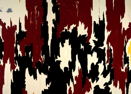 Clyfford Still, <em> 1957 – J No. 2 (PH-401)</em> (1957), Oil on canvas, 113 x 155 in