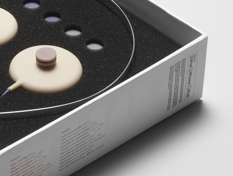 AIAIAI headphones, packaging designed by Muggie Ramadani Design Studio