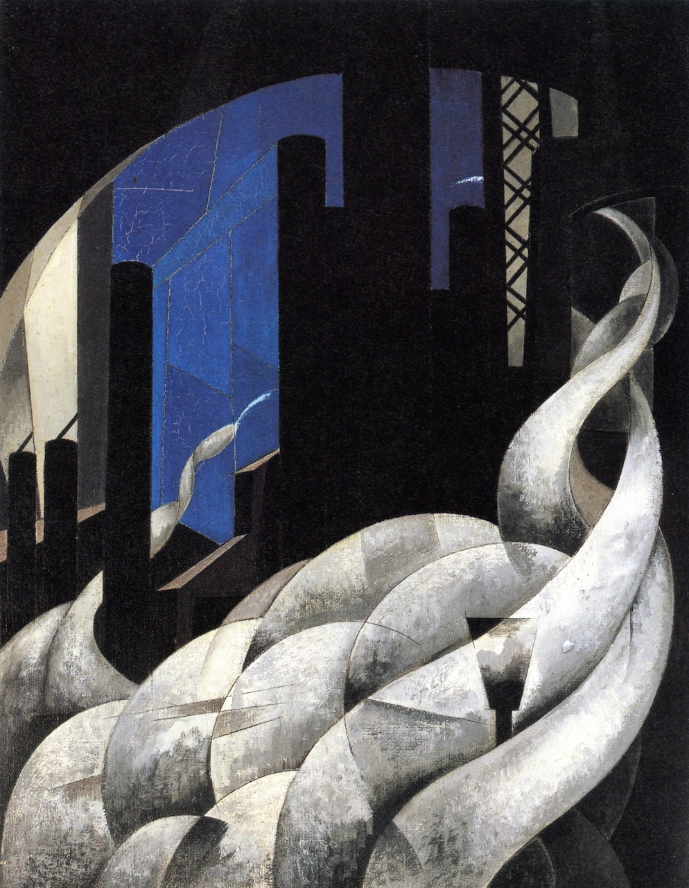 Charles Demuth, Incense of a New Church, 1921, as reproduced in Art in Time