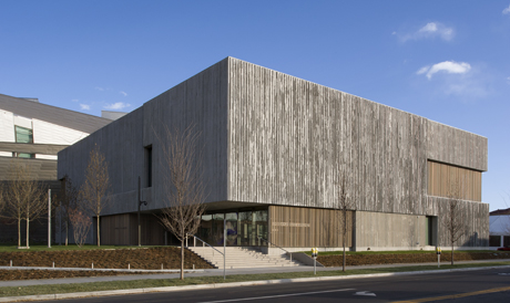 Exterior view of Clyfford Still Museum, Denver, Colorado, USA