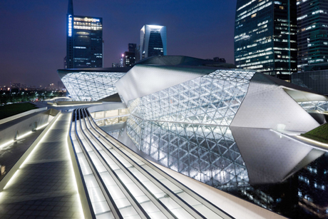 Zaha Hadid Architects, Guangzhou Opera House, Guangzhou, China