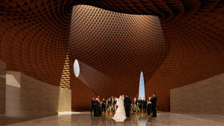 Interfaith Chapel - Brooks + Scarpa and KZF Design Studio