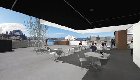 The Museum of Contemporary Art's new sculpture terrace