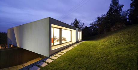 Exterior view of Rui Grazina\u0027s Private House in Barcelos & Minimal design maximum impact | Architecture | Agenda | Phaidon