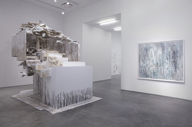 Diana Al Hadid's At The Vanishing Point (2012)