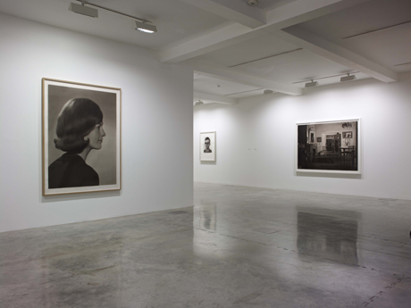Gunnel Wåhlstrand, installation view of current show 'Time and Memory' at Parasol Unit, London