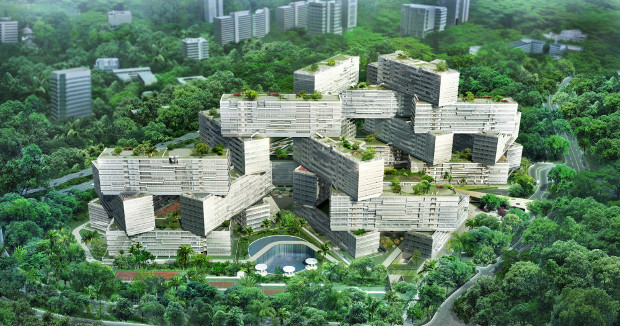 OMA splinter group's mega-estate in Singapore
