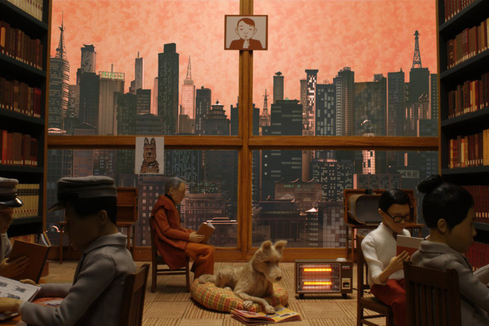 A still from Isle of Dogs by Wes Anderson. Image courtesy of Fox Searchlight