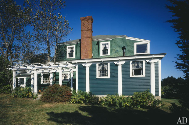 Winslow Homer's home, Prout's Neck, Maine