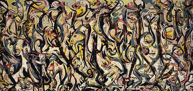 Mural by Jackson Pollock