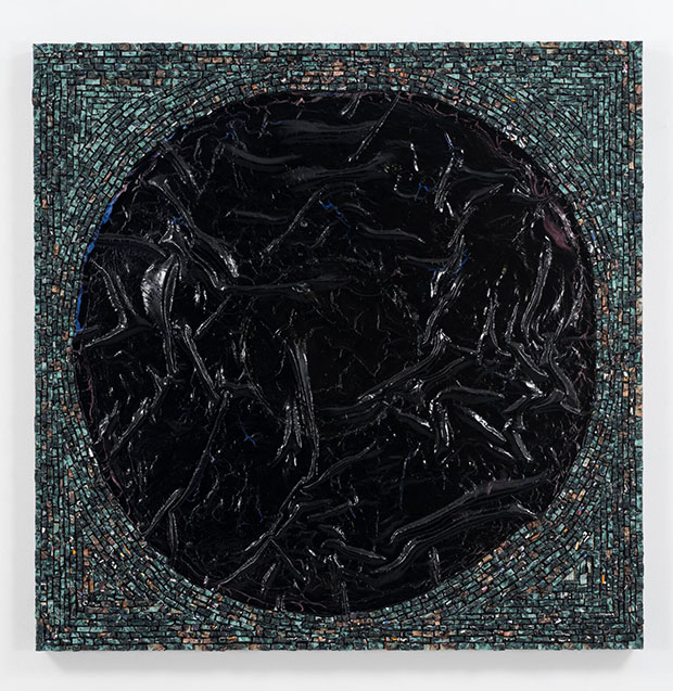 Jack Whitten - The First Portal, 2015 courtesy the artist