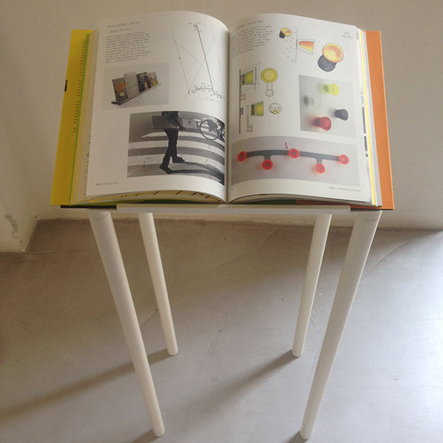 Our James Irvine book on show in Milan