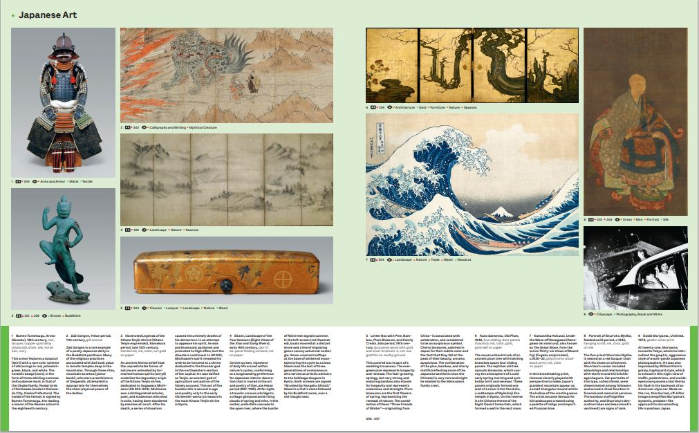 The Japanese Art page from Art =