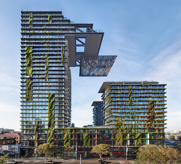 One Central Park, Sydney, Australia - Jean Nouvel and Patrick Blanc photo by Murray Fredericks