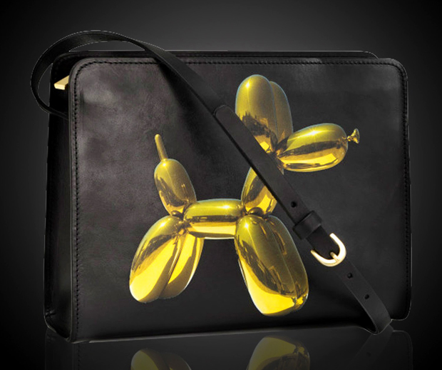Leather Balloon Dog bag - Jeff Koons for H&M