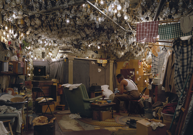 Invisible Man' by Ralph Ellison, the Prologue (1999-2000) by Jeff Wall