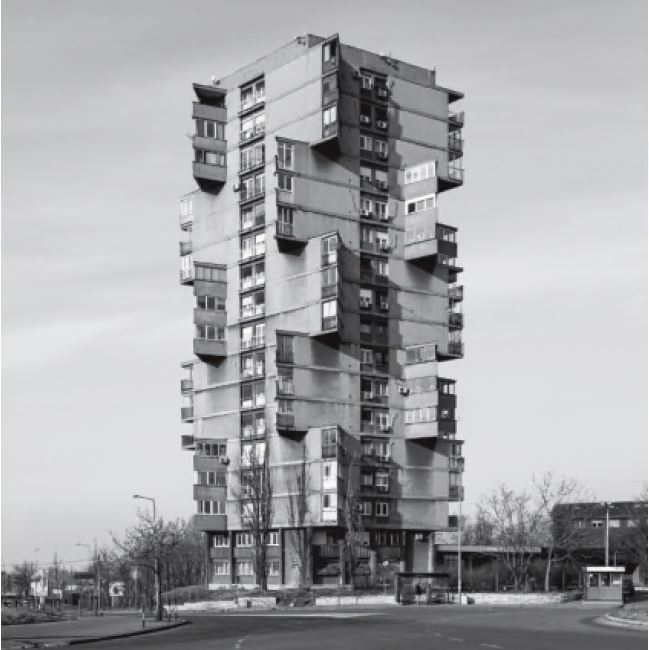 Karaburma Housing Tower, Belgrade, Serbia, 1963, by Rista Sekerinski