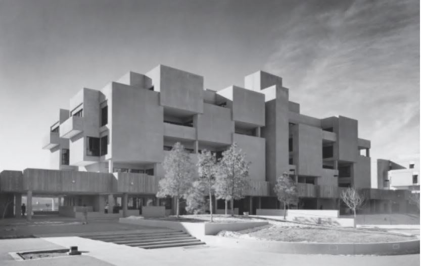 Humanities Building, University of New Mexico, USA, 1974, by Willard C Kruger & Associates