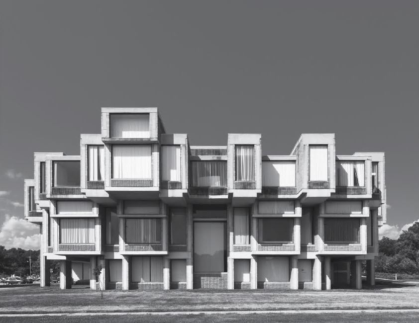 Orange County Government Center, Goshen, New York, USA, 1970, by Paul Rudolph
