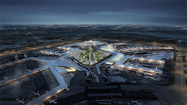 JFK airport gets a $10 billion upgrade