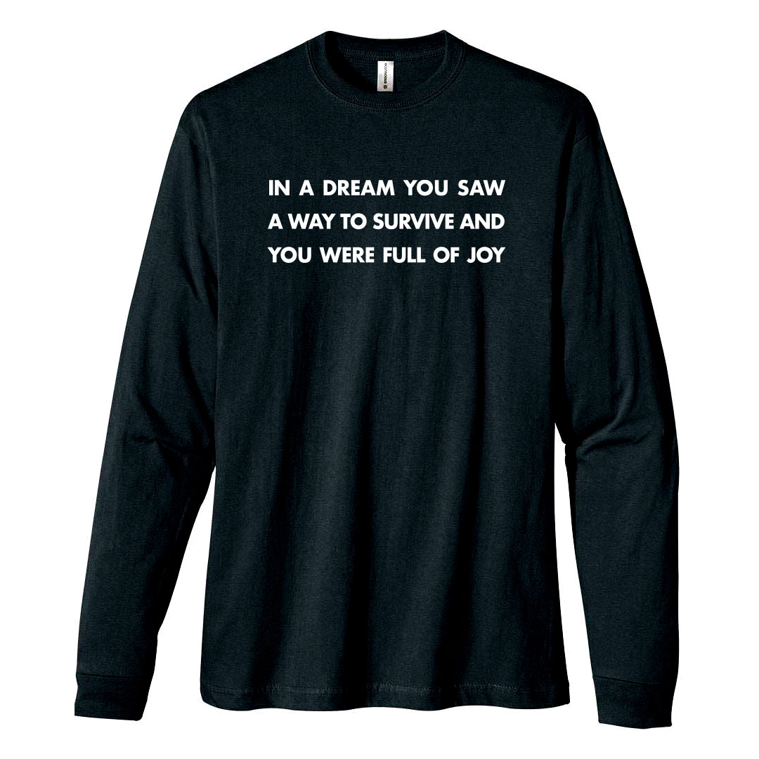 Get the Jenny Holzer long sleeve T-shirt