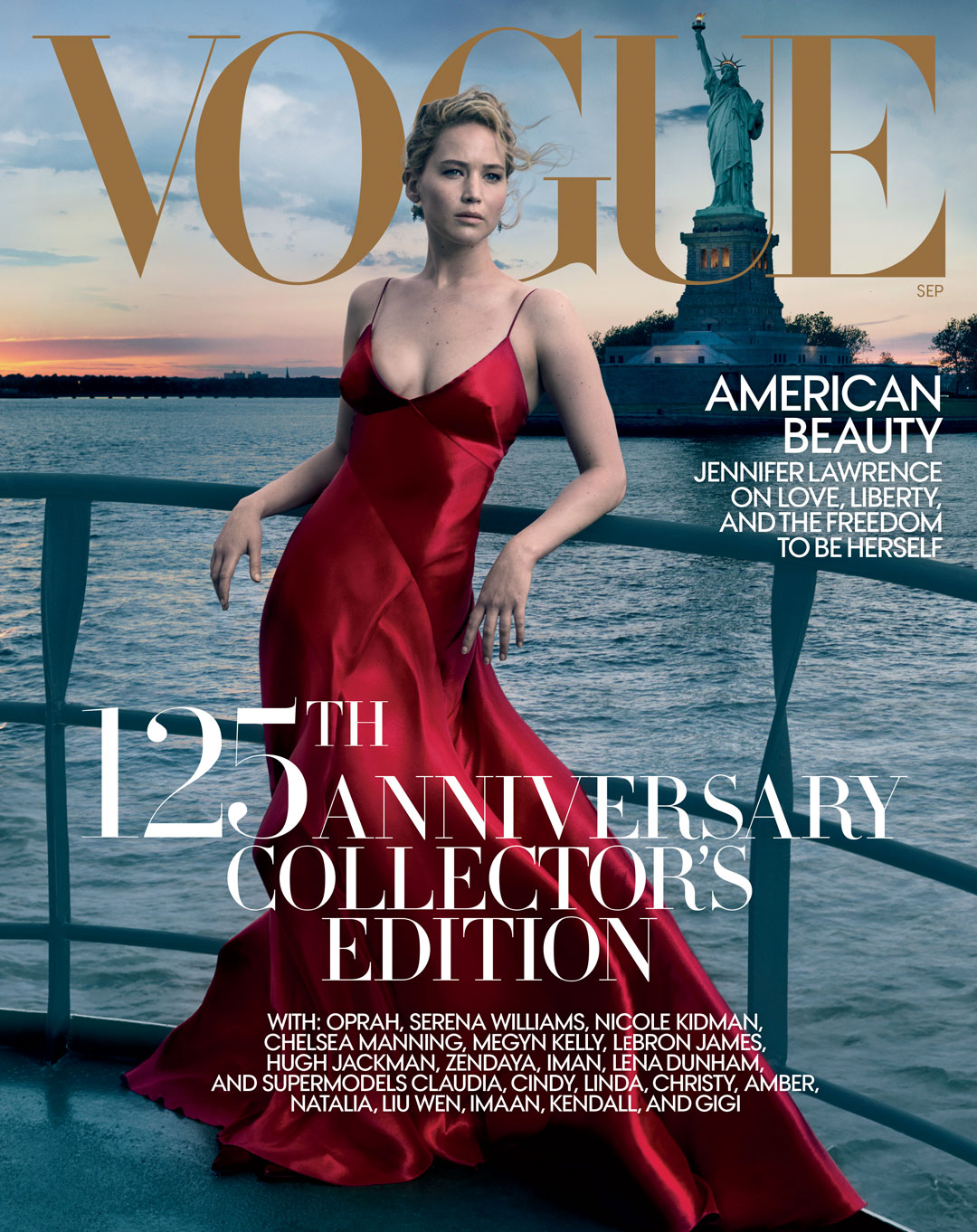 Jennifer Lawrence Shot By Annie Leibovitz For Vogues September 2017 Issue