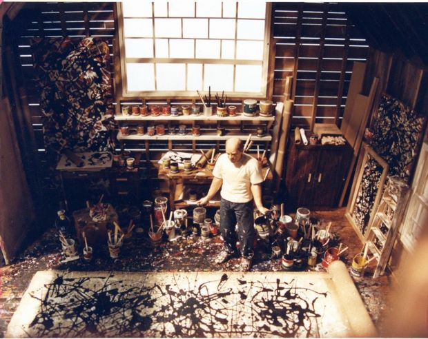 Jackson Pollock by Joe Fig