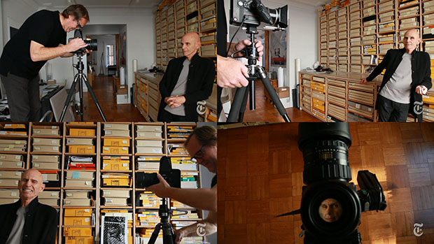 Fred R Conrad shooting for The New York Times; courtesy of NYTimes