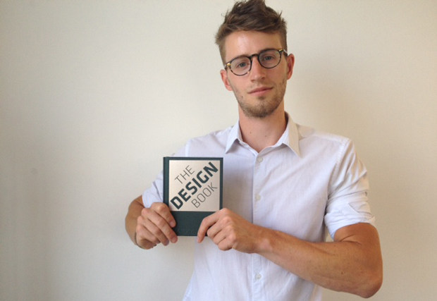 Joe Pickard with The Design Book