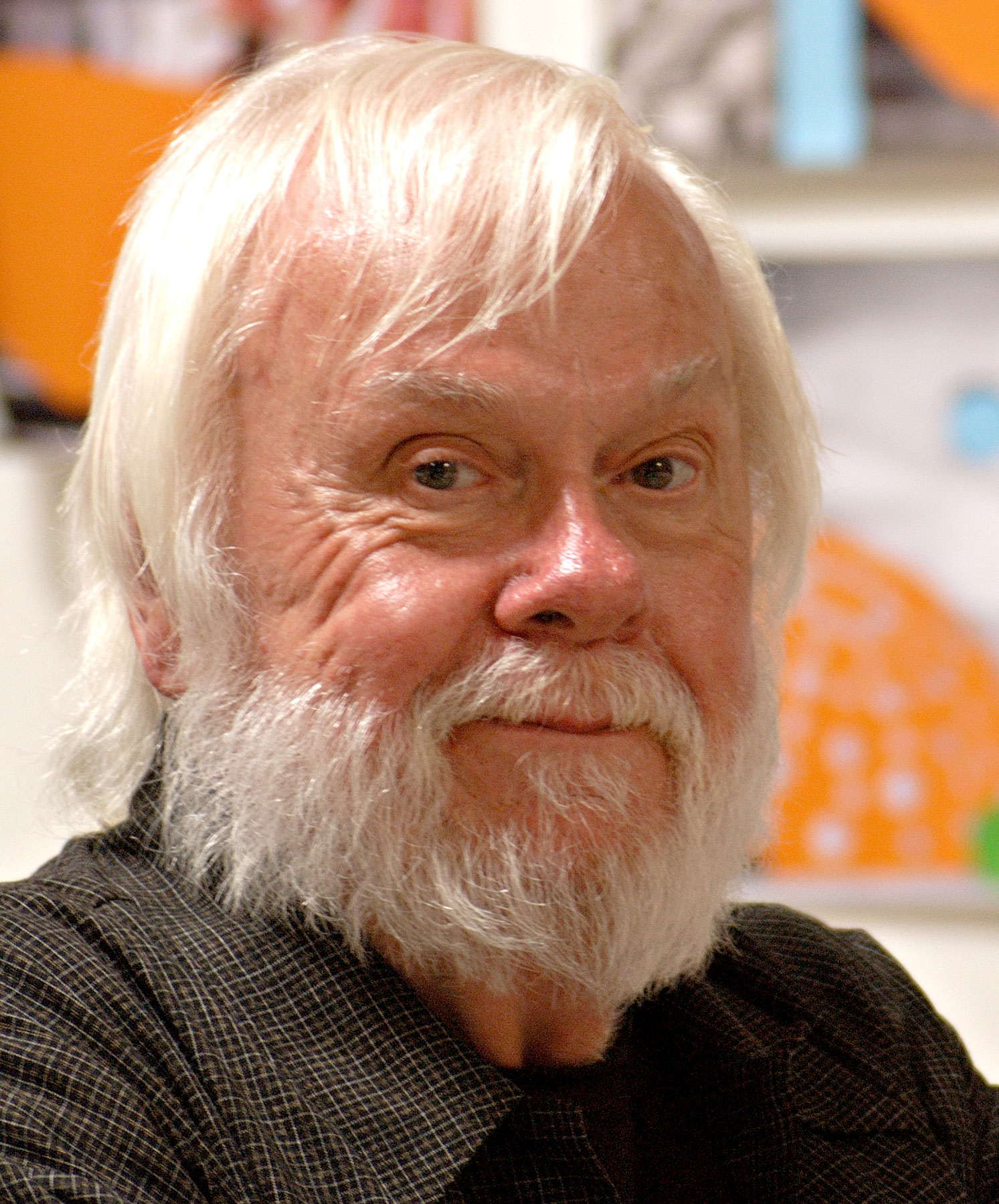John Baldessari, 2004, by Analia Saban. Image courtesy of Wikimedia Commons