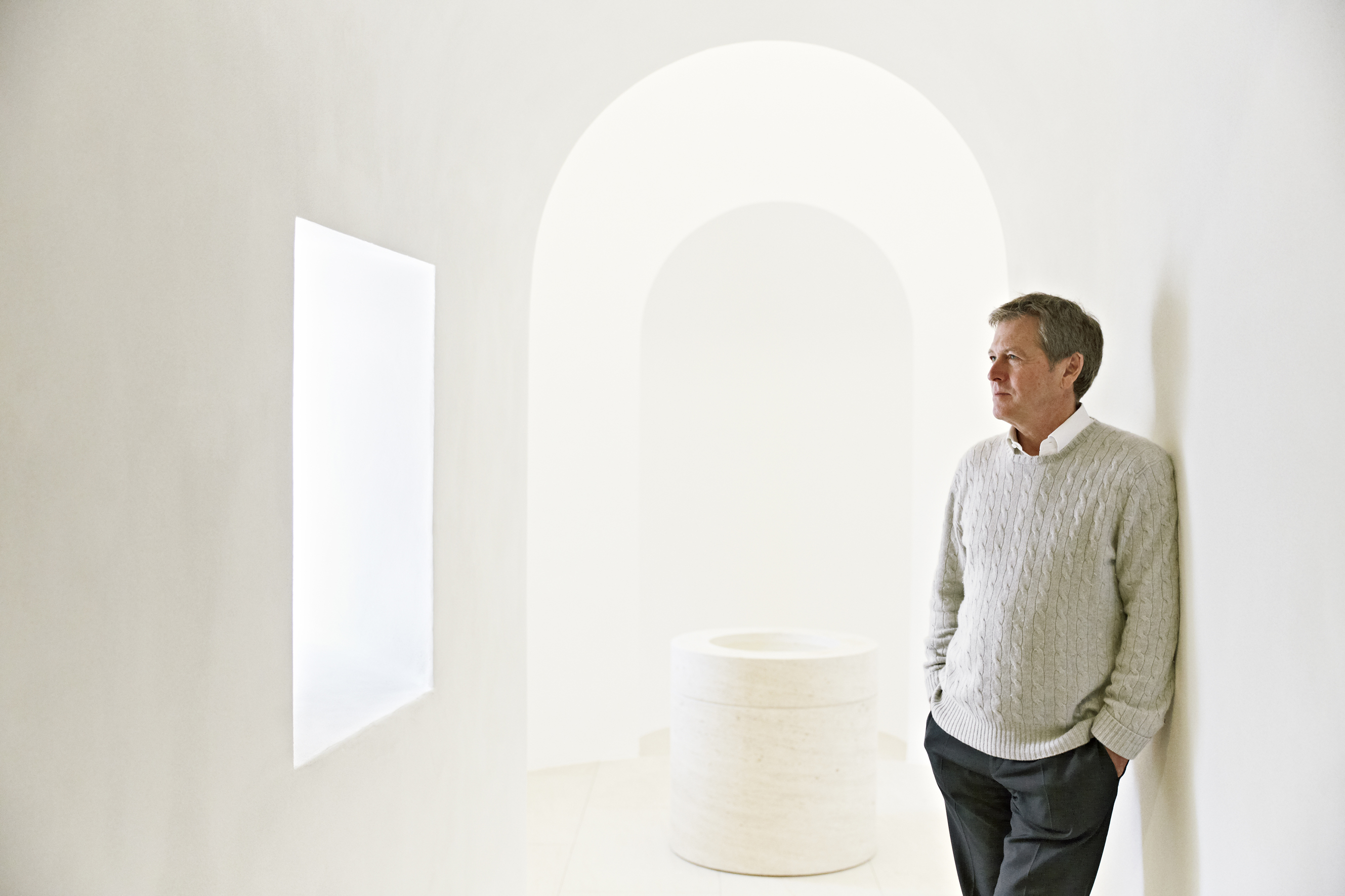 Who is John Pawson giving his book to this Christmas?