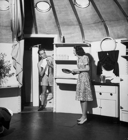 Inside the Dymaxion House - John Philips