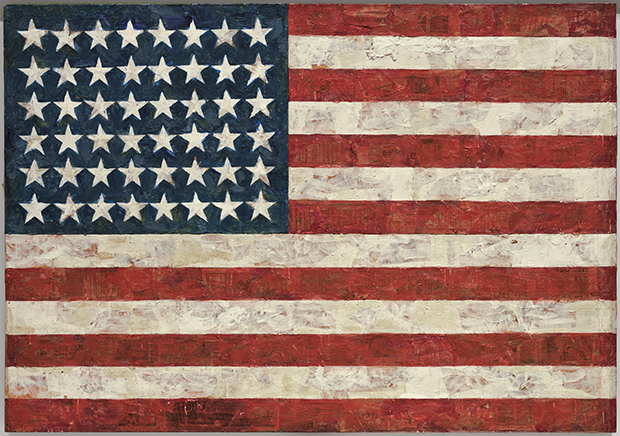 The Incredible Story Behind Flag By Jasper Johns Art