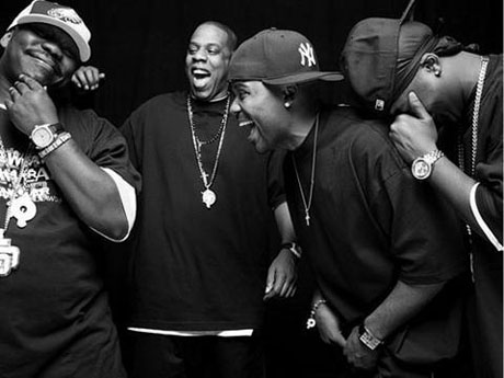 Jay-Z and co, by Jonathan Mannion