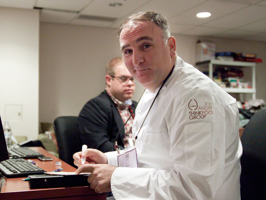José Andrés, 2011. Photograph byThe Q Speaks, via Flickr. Creative Commons licence.