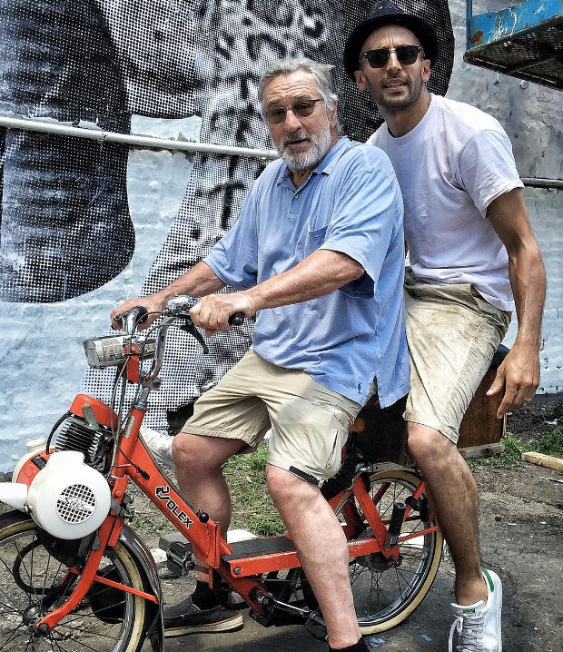 Robert De Niro Takes Jr For A Spin Round New York Art