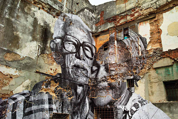 Rafael Lorenzo and Obdulia Manzano Wrinkles of the City (2012) - JR