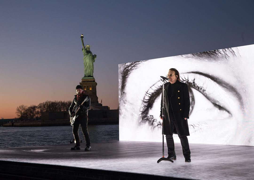U2 and JR team up for the Grammys
