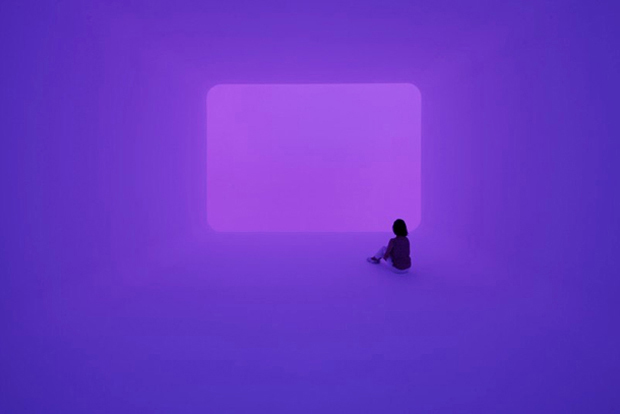 James Turrell at The Gagosian, London, 2010